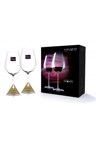 Lucaris Shanghai Soul Bordeaux Grande (Set of 2)