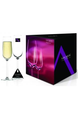 Lucaris Shanghai Soul Champagne (Set of 2)